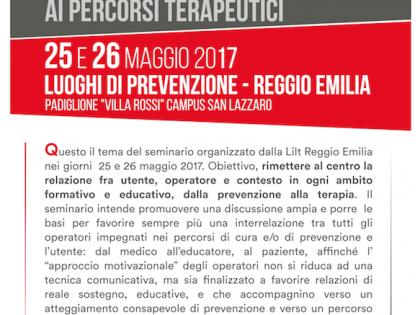 """25-26 Maggio 2017 – """"LE PAROLE DELLA CURA"""" – dalla promozione della salute ai percorsi terapeutici"""