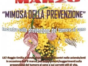 Marzo: La Mimosa della Prevenzione