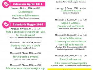 Calendario nuovi appuntamenti LIC Donna