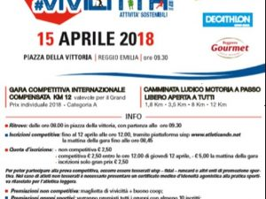 14-15 aprile 2018 – VIVICITTA' – Reggio Emilia (RE)