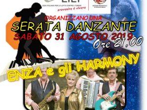 """31agosto 2019 – SERATA DANZANTE 2019 – CIRCOLO SOCIALE """"OROLOGIO"""" – REGGIO EMILIA (RE)"""
