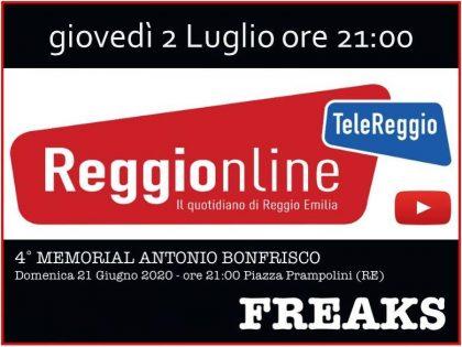 2 luglio 2020 – Concerto Memorial Bonfrisco su Telereggio ore 21,00