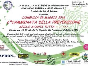 29/05/2016 – 6^ Camminata della Prevenzione – Corte Ospitale – Rubiera