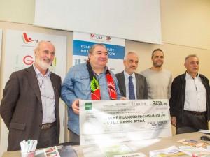 Sport e solidarietà insieme per LILT: 7.500 euro donati grazie ai tornei Gnaker – Cavalca 2016