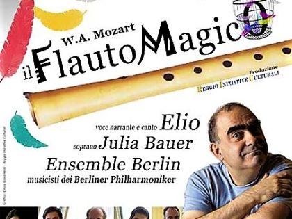 """27 ottobre 2017 – """"Il Flauto Magico"""" con Elio e i Berliner Philharmoniker – Palabigi Reggio Emilia"""