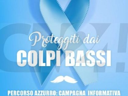 """14 giugno 2018 – Campagna Nazionale Percorso Azzurro """"LILT For Men"""""""