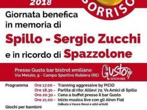 """22′ settembre 2018 – """"DONA UN SORRISO 2018"""" in memoria di Spillo, Sergio e Spazzola – Rubiera (RE)"""