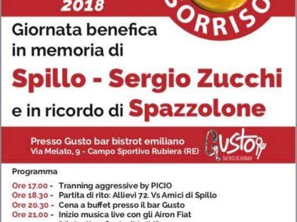 """1′ settembre 2018 – """"DONA UN SORRISO 2018"""" in memoria di Spillo, Sergio e Spazzola – Rubiera (RE)"""