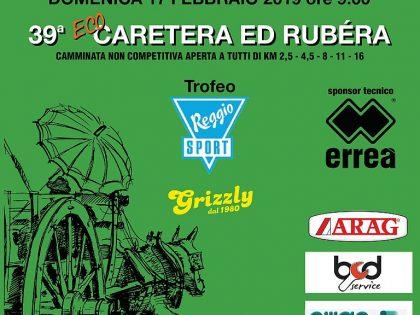 "17 febbraio 2019 – 39a ""CARETERA ED RUBERA"" – Rubiera (RE)"